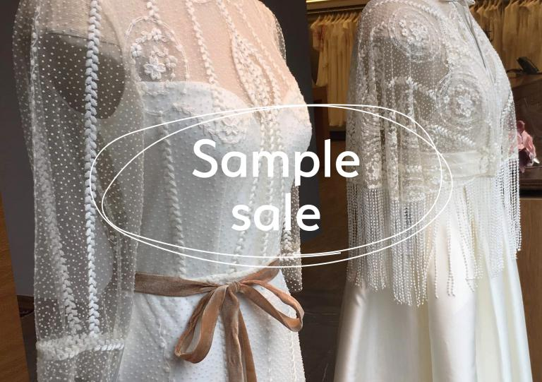 Sample sale - stockverkoop trouwjurken